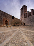 Cathedral in Ibiza Town Stock Images