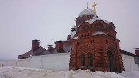 Cathedral of the Icon of the Mother of God Joy of All Who Sorrow 1906 in Sviyazhsk island, Russia royalty free stock photo