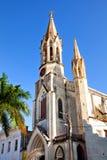 Cathedral Iglesia de Nuestra Corazon de萨格拉多耶稣 库存图片