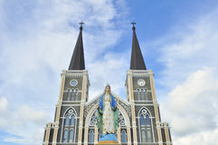 The cathedral of the immaculate conception Stock Images