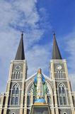 The cathedral of the immaculate conception Stock Image