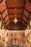 The Cathedral of the Immaculate Conception at Chantaburi in Thai Royalty Free Stock Photo