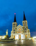 Cathedral of the Immaculate Conception Chantaburi Thailand Stock Images