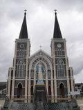 Cathedral of the Immaculate Conception, Chanthaburi Royalty Free Stock Photography