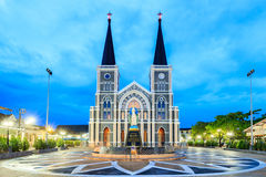 The Cathedral of Immaculate Conception Chanthaburi Stock Photos