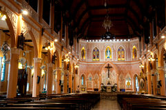 The Cathedral of the Immaculate Conception, Chanthaburi, Thailand Royalty Free Stock Image