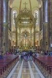 Cathedral of the Immaculate Conception Cuenca Ecuador Stock Image