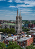 Cathedral of the Immaculate Conception in Denver Stock Photos