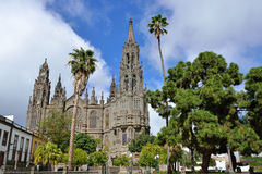 Free Cathedral In Arucas Stock Images - 39327784