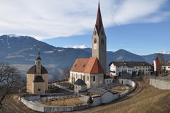 Cathedral In Brixen, Bressanone Stock Photo