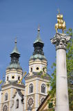 Cathedral In Brixen/Bressanone In South Tyrol Stock Images