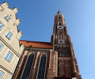 Cathedral In Landshut. Royalty Free Stock Photography