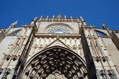 Cathedral In Sevilla Stock Photography