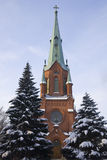Cathedral In Tampere Royalty Free Stock Images