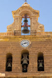 Cathedral of the Incarnation bell in Almeria Spain Royalty Free Stock Photography