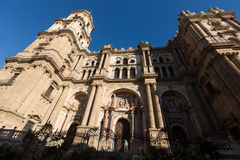 The Cathedral of the Incarnation. Malaga Royalty Free Stock Photography