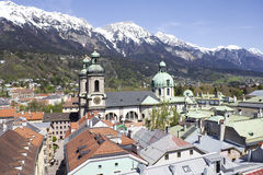 Cathedral Innsbruck Royalty Free Stock Photos