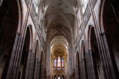 Cathedral inside Stock Photography