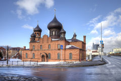 Cathedral of the Intercession Cathedral Believer Stock Photos