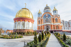 Cathedral of Intercession of the Mother of God Royalty Free Stock Photo
