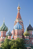 Cathedral of the Intercession (St. Basil) Royalty Free Stock Images