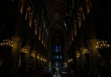Cathedral Interior Royalty Free Stock Photo