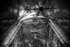 Free Cathedral Interior, Gothic Style, Spain Royalty Free Stock Photography - 39354897