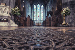 Cathedral interior, Ireland Royalty Free Stock Photos