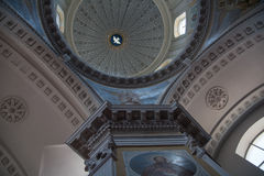 Cathedral interior Royalty Free Stock Photography