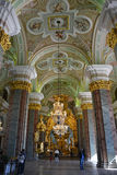 Cathedral interior in Peter and Paul fortress Royalty Free Stock Photography