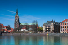 Cathedral Island Wroclaw (Bresslau) Royalty Free Stock Photos