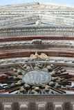 Cathedral Italy in Siena Details Royalty Free Stock Photography