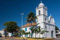 Cathedral of Itanhaem Royalty Free Stock Photos