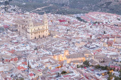 Cathedral in Jaen Royalty Free Stock Images