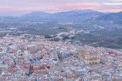 Cathedral in Jaen Stock Photography