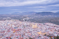 Cathedral in Jaen Stock Image