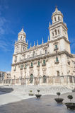 Cathedral in Jaen Royalty Free Stock Photo