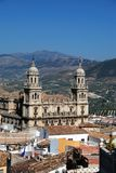 Cathedral, Jaen, Spain. Stock Photo