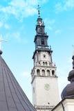 Cathedral of Jasna Gora Monastery. Czestochowa, Poland Royalty Free Stock Photos