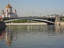 Cathedral of Jesus Christ Saviour, Moscow Stock Photos