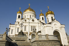 Cathedral of Jesus Christ Saviour, Moscow Royalty Free Stock Photos