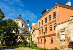 Cathedral of Johns the Baptist and the Evangelist in Lublin - Po Royalty Free Stock Photo