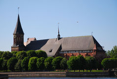 Cathedral in Kaliningrad Stock Photo