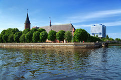 Cathedral in Kaliningrad (Koenigsberg), Russia Royalty Free Stock Images