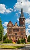 Cathedral in Kaliningrad Royalty Free Stock Photo