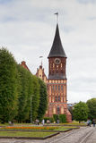 Cathedral. Kaliningrad, Russia Royalty Free Stock Photography