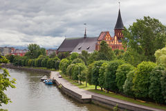 Cathedral. Kaliningrad, Russia Stock Photo