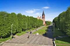 Cathedral in Kaliningrad, Russia Stock Photo