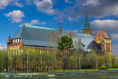 Cathedral in Kaliningrad Stock Photos