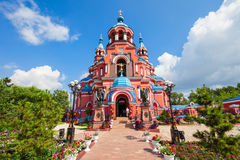 Cathedral Kazan Icon, Irkutsk stock image